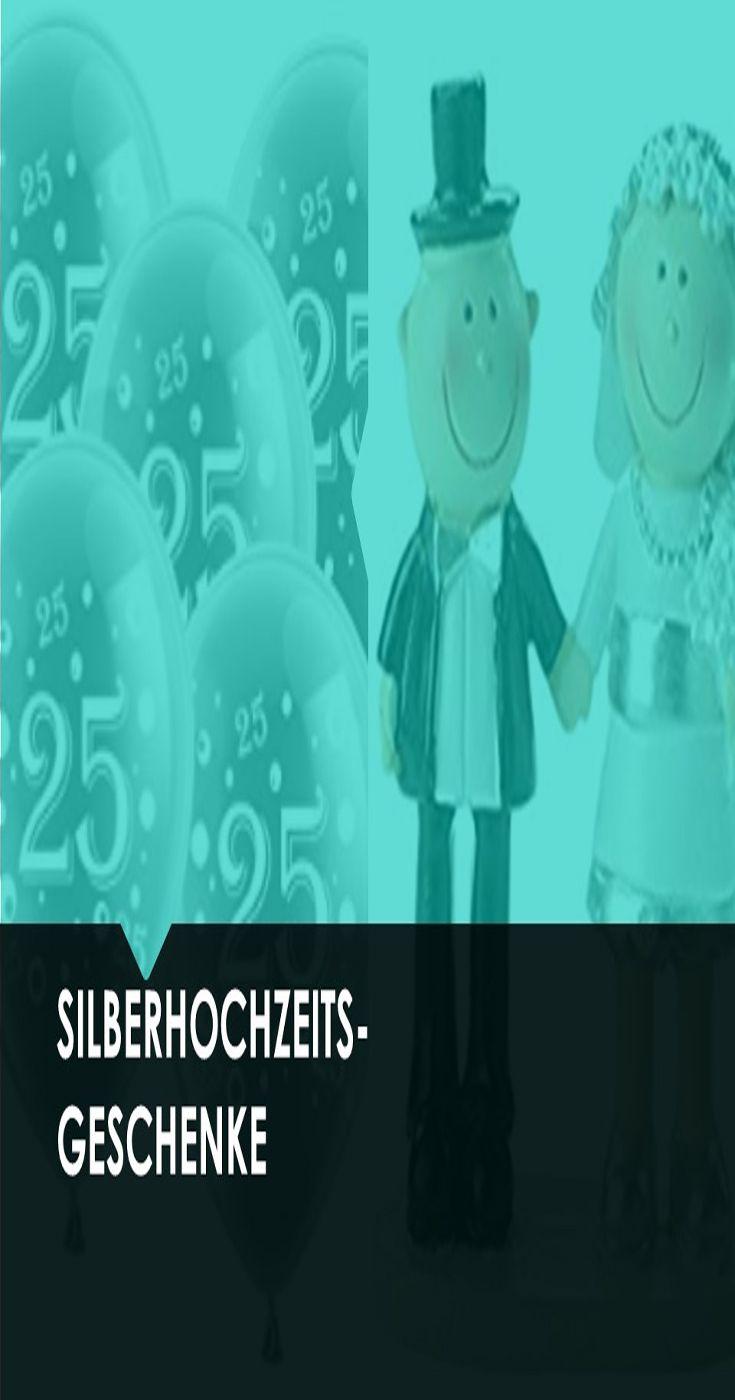 Silberhochzeits Geschenkideen Silberhochzeit Silberhochzeit Geschenk Hochzeit Jahrestage