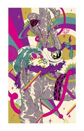 tropical toxic: MGMT / Congratulations :: Limited Edition Print
