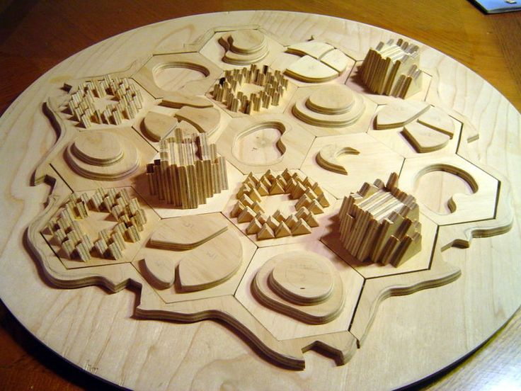 """Catan is a family strategy boardgame for 3-4 players (previously called """"Settlers of Catan""""). It has a clever modular board that is arranged differently each time you play. Catan has inspired many different 3D versions; the board represents an island with 6 different terrain types, so it is the perfect game to model, be it out of resin or cupcakes. Searching the wider web will reveal literally dozens of versions, many exquisitely modeled, and even a commercial version which sold (o..."""