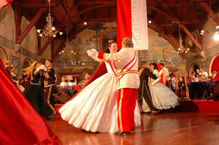 The Grand Ball in Madonna di Campiglio takes place on the occasion of the Hapsburg Carnival
