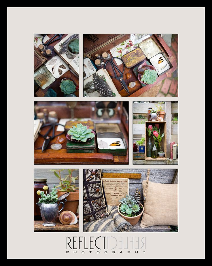 Gorgeous vintage collections repurposed by The Naturalist http://thenaturalistmelbourne.blogspot.com.au/