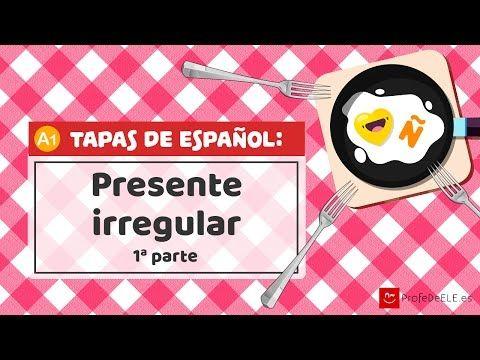 El presente indicativo - verbos irregulares