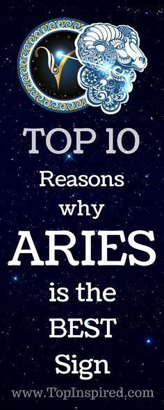 There really is no way of settling the argument and also not all people are going to have every trait of their sun sign. But let's see now why we love the energetic Aries (March 21 - April 20)!