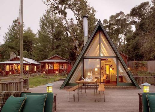 Camp Run-a-muk - Richard and Mardi Brayton piece together an extraordinary camp with nature. Photo By: Matthew Millman