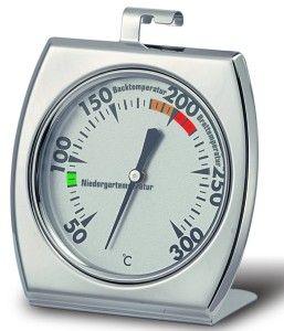 Standfuß und Haken bei einem Backofenthermometer