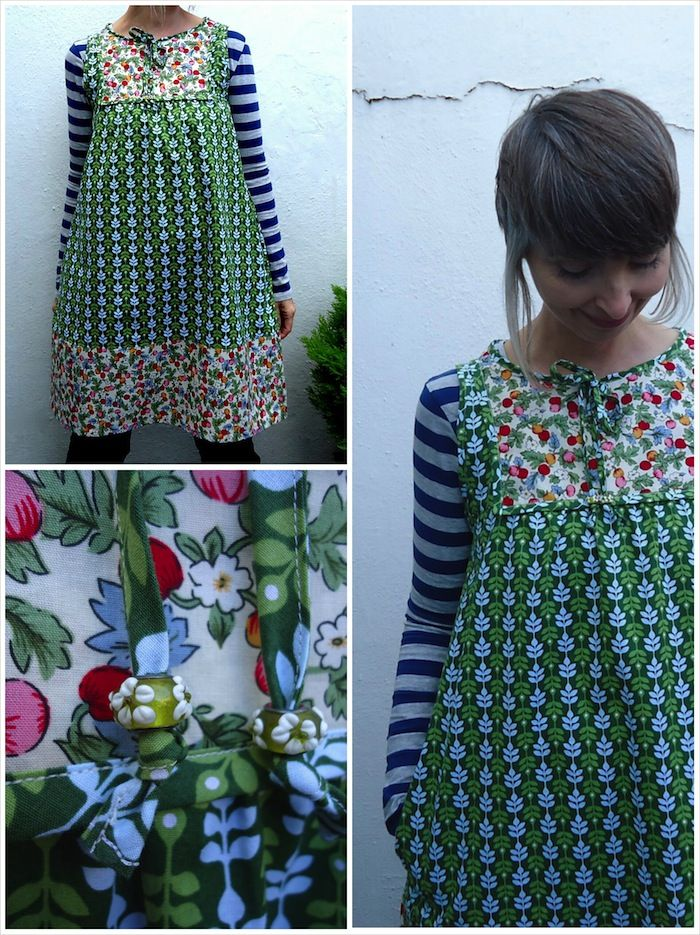 Make It Perfect Poppy Tunic made and modified by Ivy Arch