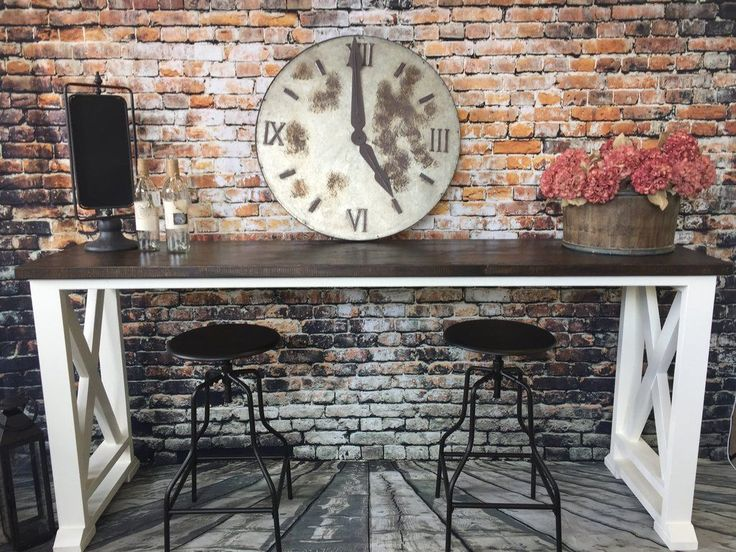 Sally Farmhouse Bar Table                      – Walnut Street Marketplace & Howell Holiday Boutique