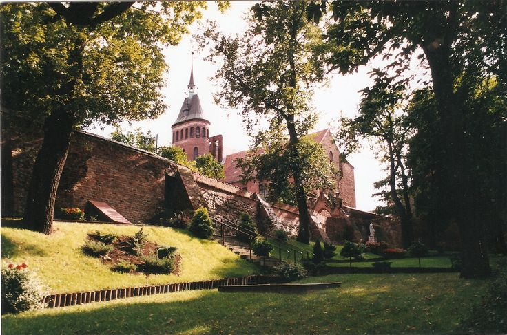 Chełmno, ogród klasztorny