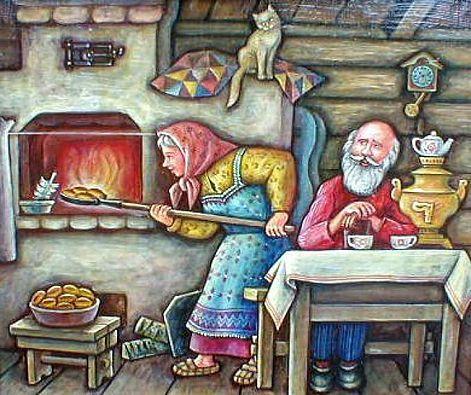 рецепты для русской печи!