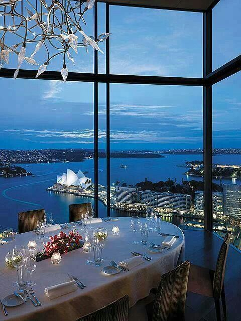 The Four Seasons Hotel. Darling Harbour. Sydney, Australia. One of the best views I have ever seen