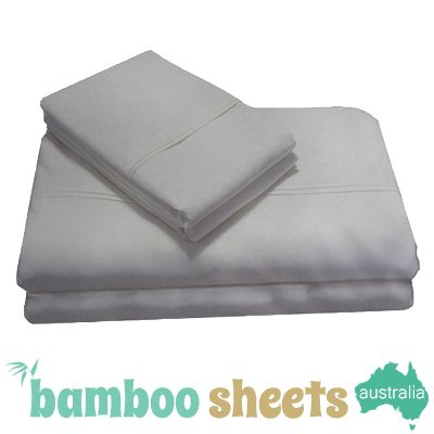 Bamboo Sheets for a Queen Size Bed in Silver $179.00