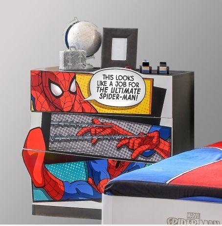 Toffe #ladekast voor de #Spiderman #kinderkamer!