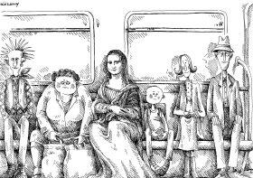 Közöny - Szűcs Édua rajza