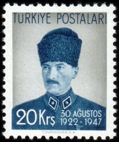 Türk PullarıAtatürk pulu (1947)