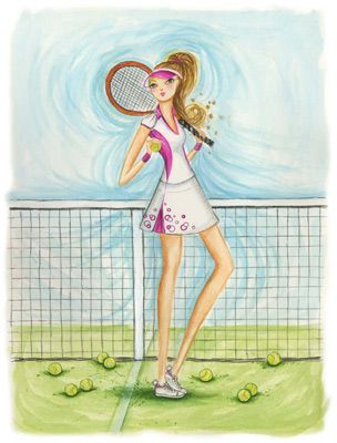 Tennis, that's how we look every time too!