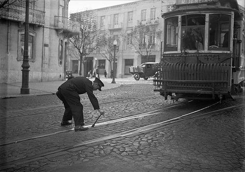 Eléctrico, Lisboa, Portugal Fotógrafo: Estúdio Horácio Novais. Fotografia sem data. Produzida durante a actividade do Estúdio Horácio Novais, 1930-1980.