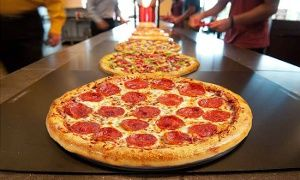 Groupon - Pizza Buffet with Drinks for Two or Four at CiCi's Pizza  (Up to 41% Off)  in Multiple Locations. Groupon deal price: $10.99