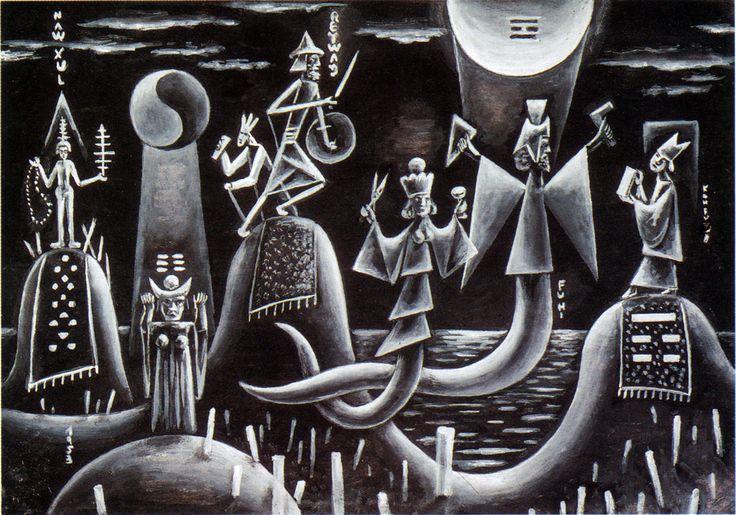 'Desarrollo de Yi Ching' by Xul Solar, 1953
