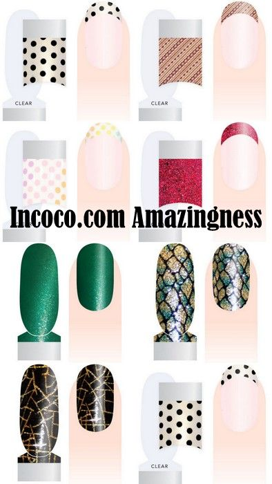 @incoco -My Favorite Nail Polish Stickers