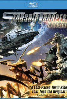 Starship Troopers 4 Invasion - the studio couldn't get the real actors to reprise their characters so they just CG'd them in, lol. Not bad though. Still prefer the first movie.