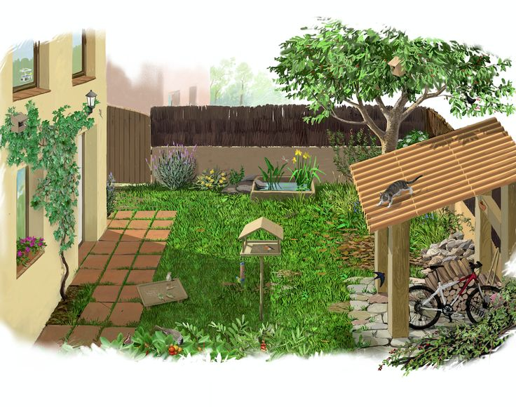 Como convertir tu Jardín o Huerto en un auténtico #RefugiosWN de #fauna y #flora https://refugios.wnature.org/