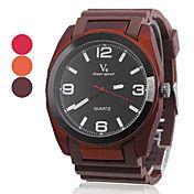 Menns Rubber analog kvarts armbåndsur (assort... – NOK kr. 86