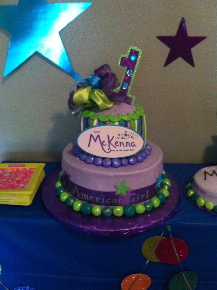 American Girl Cake Ideas
