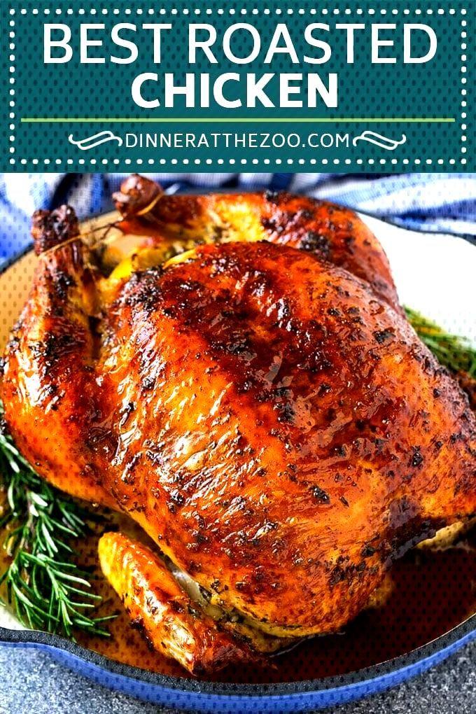 Dinneratthezoo Roasted Chicken Lowcarb Recipe Dinner Whole Roast Keto Roasted Chicken Re Hahnchen Ofen Rezepte Huhnchenrezepte Hahnchenauflauf Rezepte