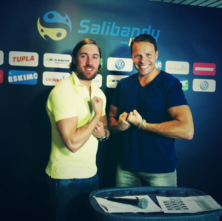 Hunks. Ylijohtava and Juhani Henriksson. #salibandy #floorball #unihockey