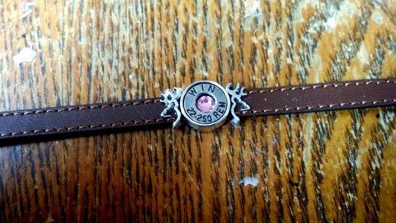 Slide charm bracelet browning, deer head, buck head.