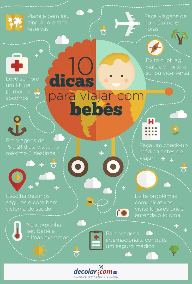 10 dicas para viajar com bebês