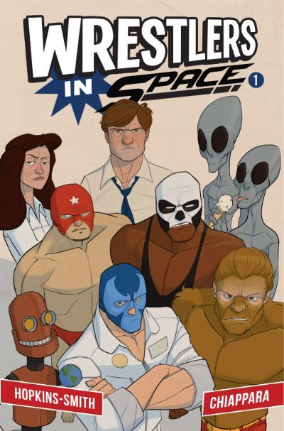 Check out Wrestlers In Space #1 on @comixology