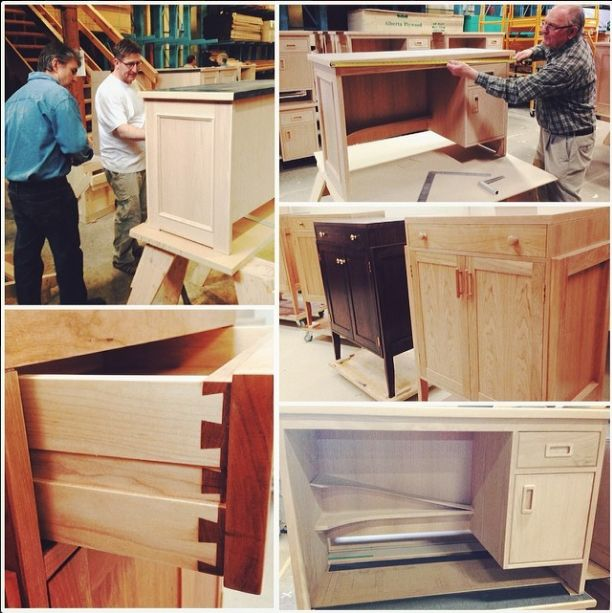 Our Millworker & Carpentry, Cabinetmaker students do fantastic work! Their final projects were graded by industry professionals today. #yeg #abpse #NAIT #Edmonton