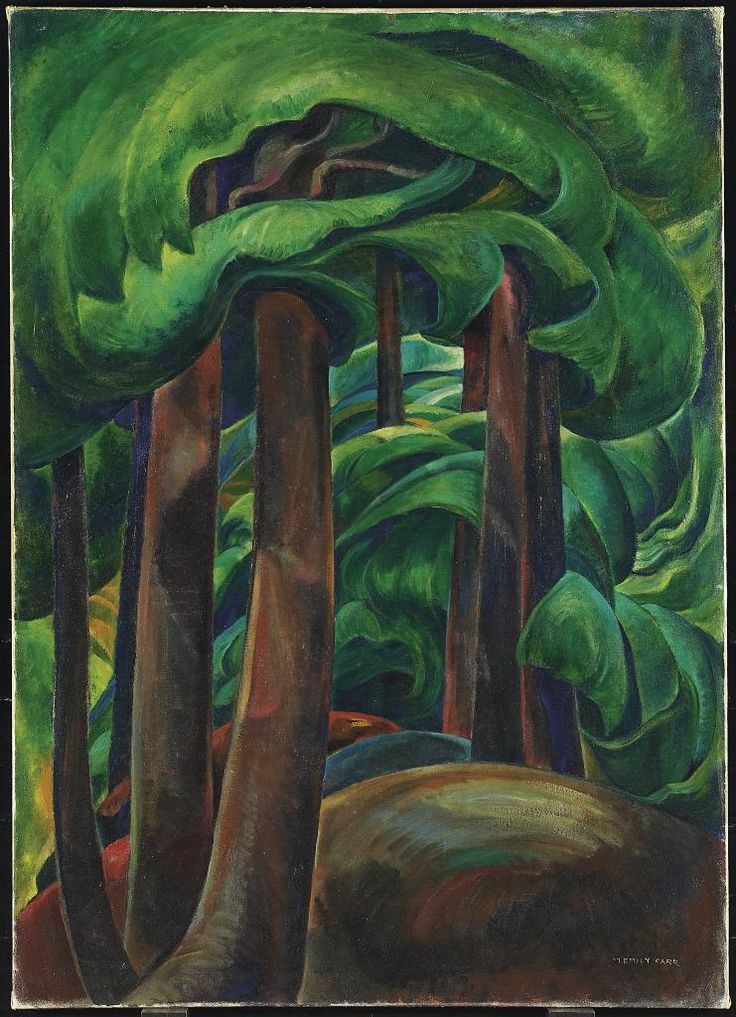 Western Forest, c. 1931 Emily Carr, Canadian, 1871 - 1945