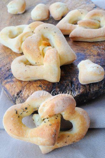 Cuoricini morbidi al rosmarino ricetta sfiziosa vickyart arte in cucina