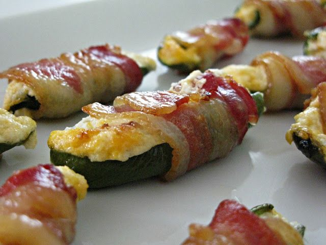 Love And Bellinis: Bacon Wrapped Jalapeno Poppers