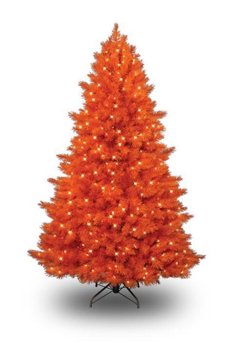 Unique and unusual colorful artificial christmas tree for Unusual artificial christmas trees