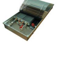 Внутрипольные отопительные конвекторы с вентилятором EVA COIL - KGB Конвектор встраиваемый в пол Артикул: нет Конвектор встраиваемый в пол EVA COIL - KGB с естественной конвекцией, с тангенциальным вентилятором, решетка анодированная (серебристая). Гарантия производителя.