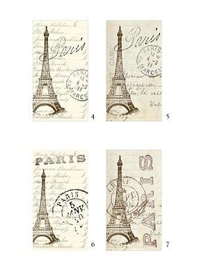 faux vintage ephemeras to print