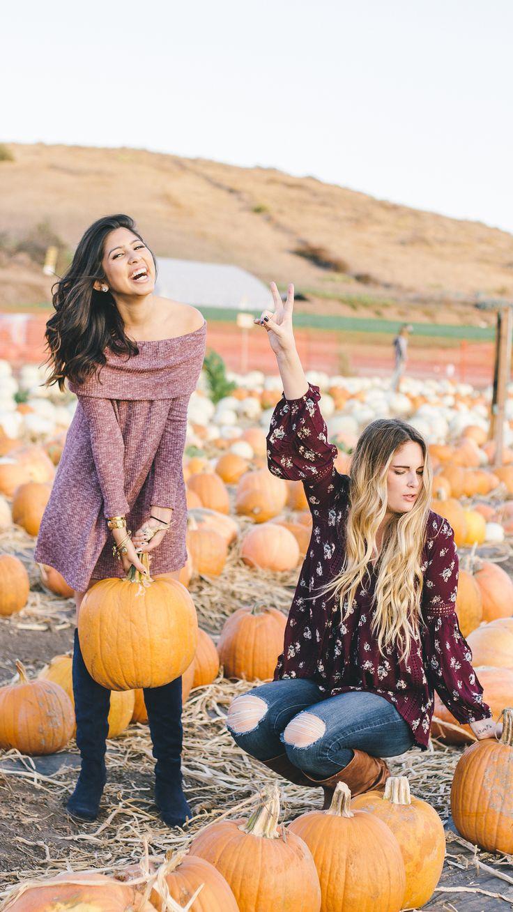 cute fall outfit, pumpkin patch photoshoot // Pumpkin Spice Lookbook ~ October 2016 | daisyshoppe.com