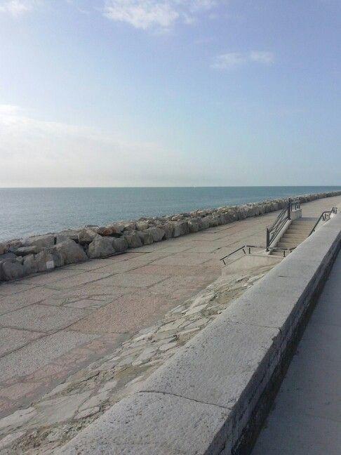 Il mare calmo