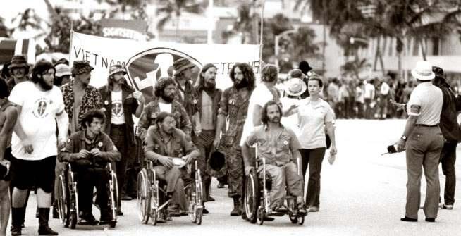 Ron Kovic' Strike for Peace -  1974