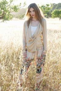 Printede Summum sommerbukser med elastik, multicolor. Shop online - fri fragt.