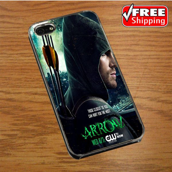 Arrow Oliver Queen Stephen Amell Wicked Town IPHONE 4 | 4S COVER CASE