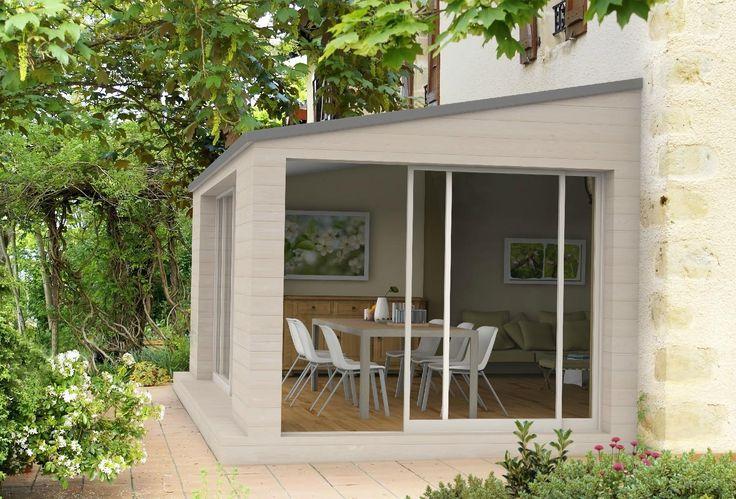 Extension de maison Nantes - OUEST EXTENSION : agrandissement maison, Saint Nazaire, 44, La Baule Escoublac, extension maison bois, agrandissement maison en bois, bardage