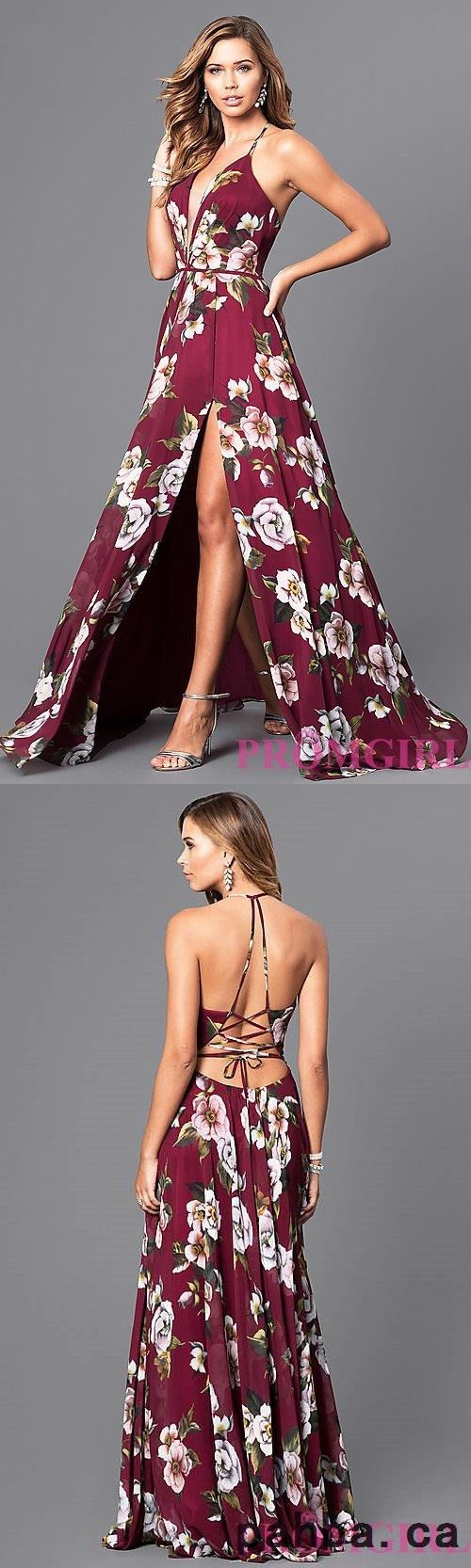 floral v neck long corset prom dress M0373 #prom #promdress #promdresses #longpromdress #promgowns #promgown #2018style #newfashion #newstyles #2018newprom#eveninggowns#floralpromdress#vneckpromdress#corsetpromdress
