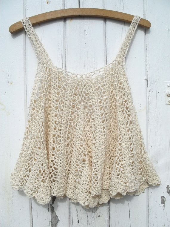 Crochet. Wish I had the pattern to make this. It would look great on my daughter. :)