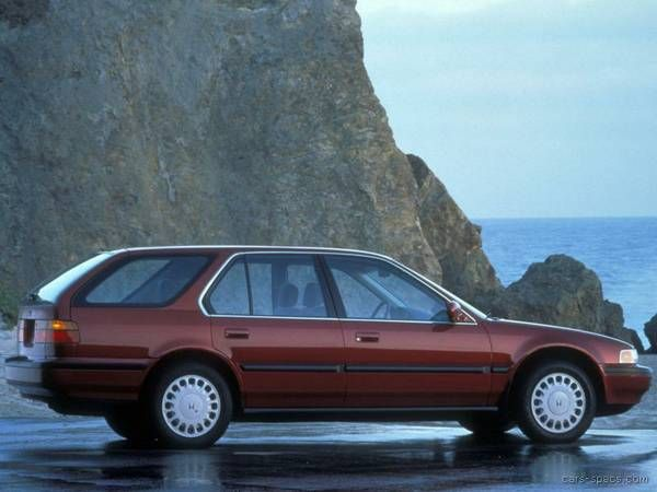 1992 Honda Accord - didn't remember these.