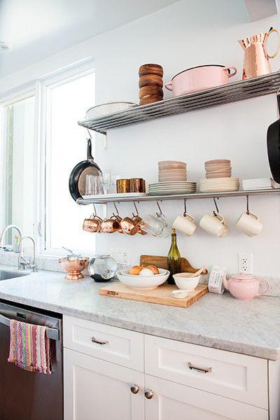 Pretty In Pink - Cool Kitchen Ideas - Photos