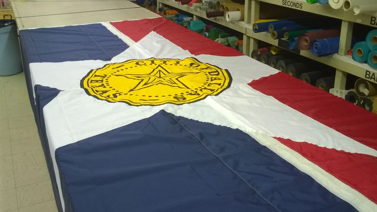 custom nylon flag